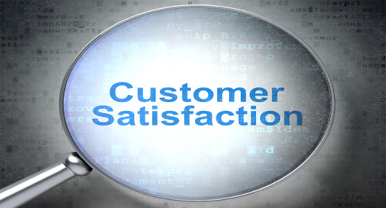 Customer satisfaction under magnifying glass